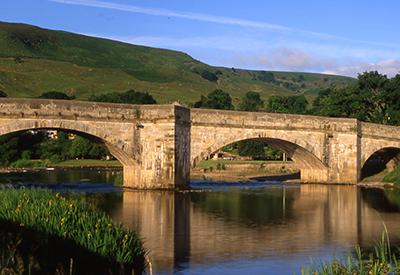 Burnsall Bridge - landscape